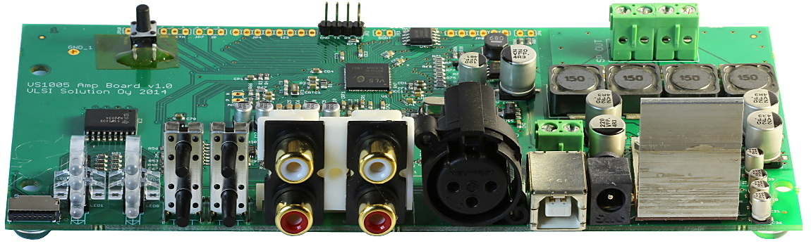 VS1005 Amp Board, Audio device.