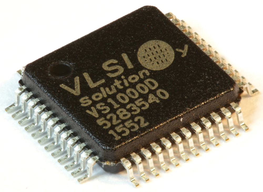 VS1000D-L (Tray), Ogg Vorbis Player System Circuit.