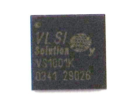 VS1001K-B, mp3 decoder circuit, BGA49 package.