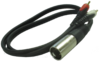 RCA to XLR adapter for Anti-Mode 8033, Audio cable.