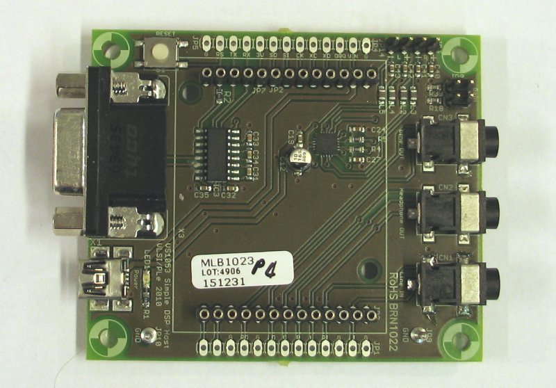 Simple DSP Host Connector Board.