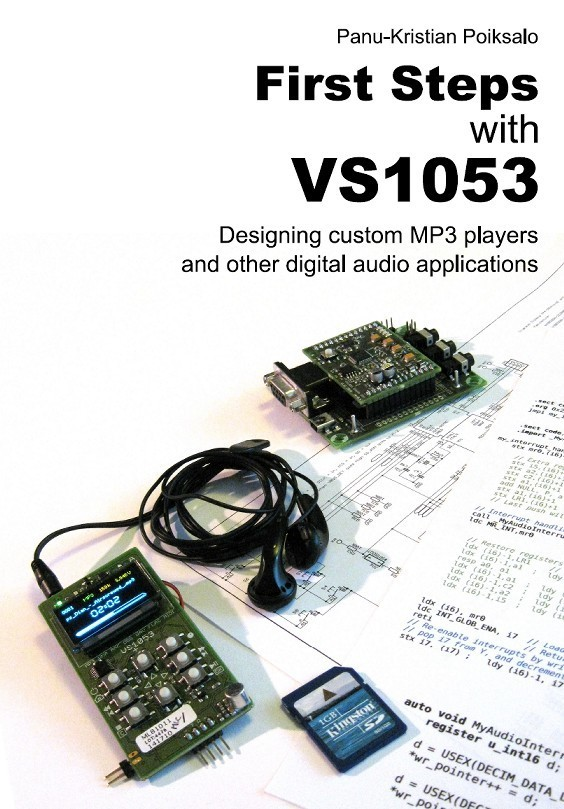First Steps with VS1053, Book.