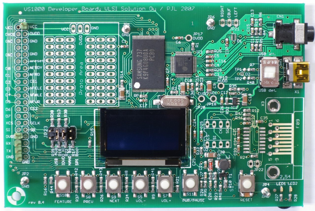 VS1000D-L Developer Board.