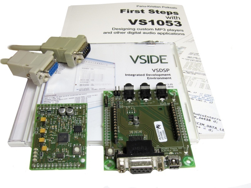 VS1063 Simple DSP Professional Kit, Audio Processor.