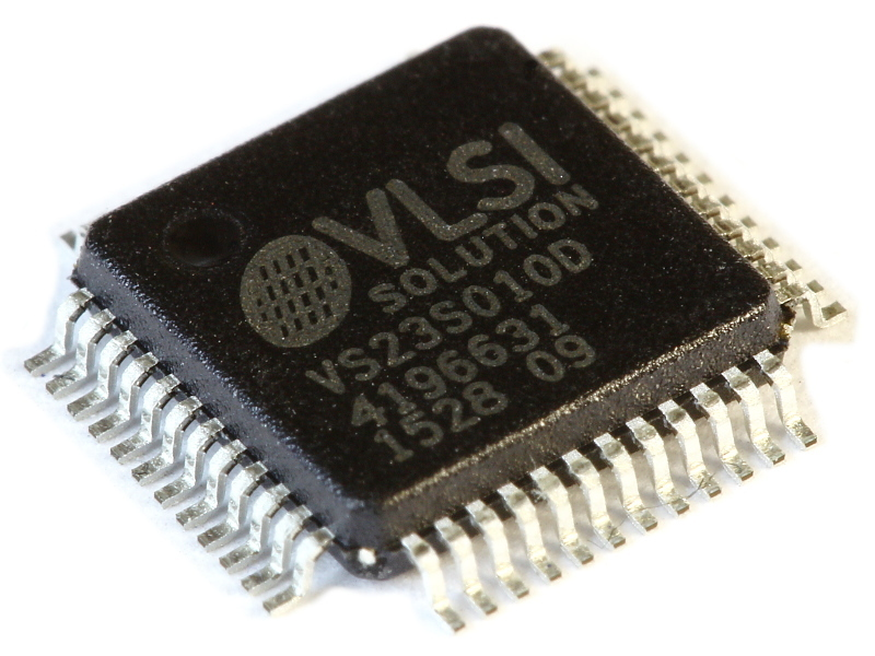 VS23S010D-L (Tray), 1 Megabit SPI / 8bit bus SRAM with PAL/NTSC Video Controller