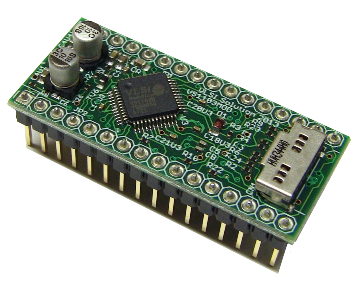 VSMD321V060 VS1103 Module, 16MB Flash.