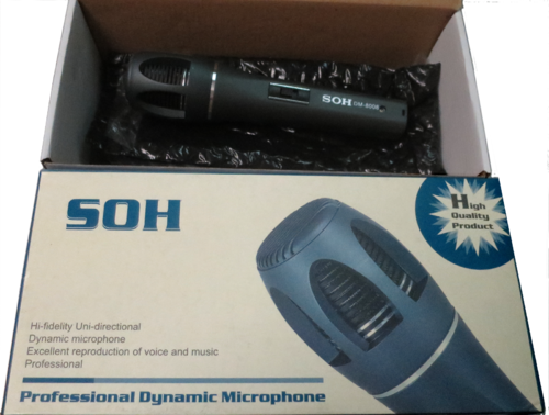 SOH Professional Dynamic Microphone