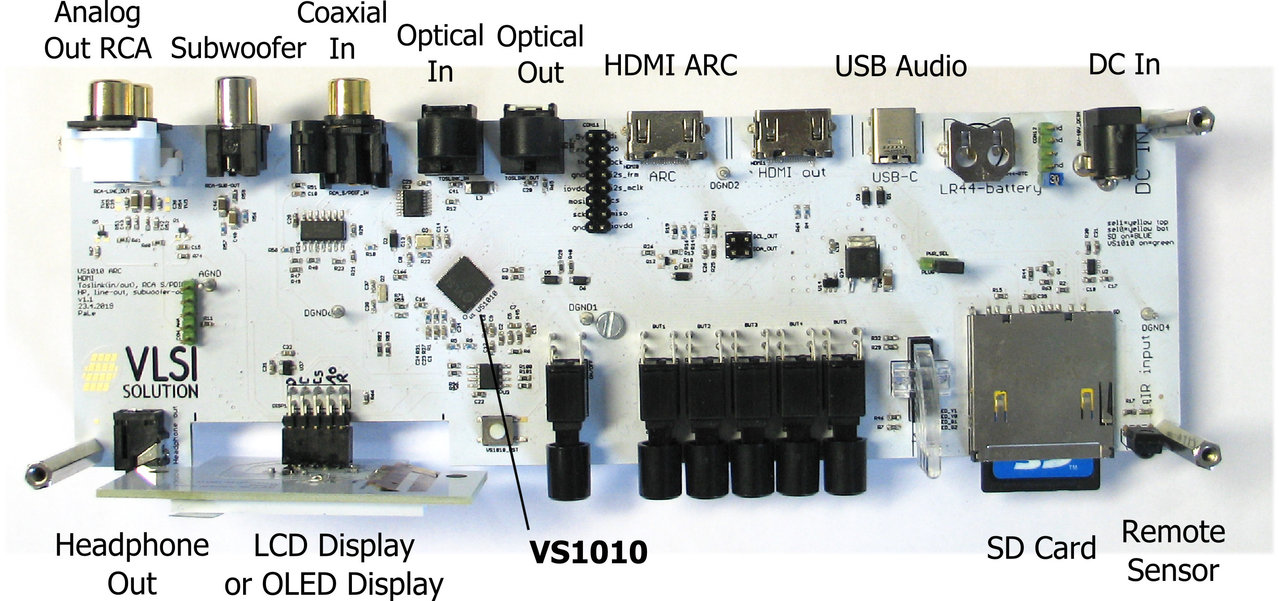 VS1010 ARC Board